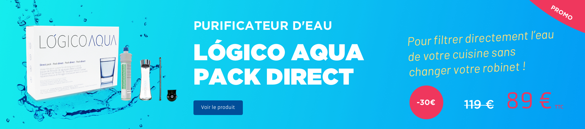 Diaporama promo Logico Aqua Pack Direct