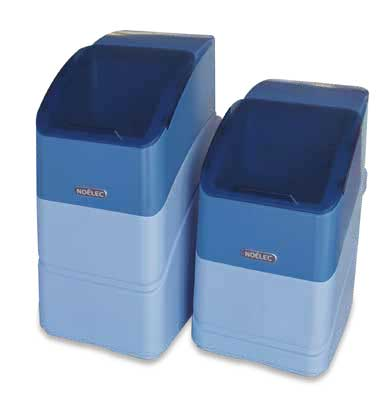 Water softener without electricity NOELEC 8 - Ranges